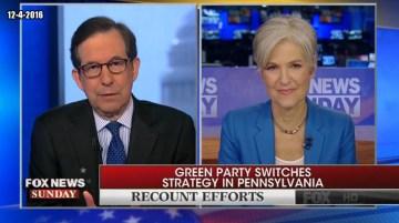 Chris Wallace Grills Jill Stein (Video)