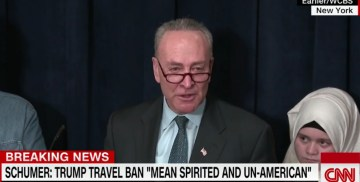"""FLASHBACK: Chuck Schumer Said That A """"REFUGEE PAUSE MAY BE NECESSARY"""""""