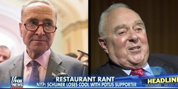 Chuck Schumer Goes Off On Trump Supporter In Restaurant