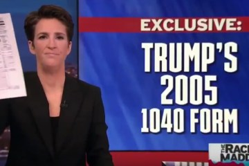 Oopsie! Rachel Maddow Broke the Law When She Revealed Trump's Tax Forms