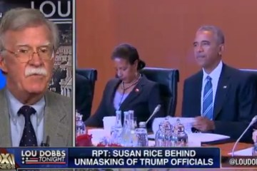 """Ambassador Bolton: Susan Rice Has """"Real Legal Problems Here"""" (Video)"""