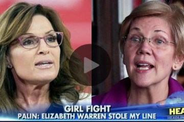 Palin Calls Out Fauxcahontas For Stealing Her Fight Like A Girl Quote