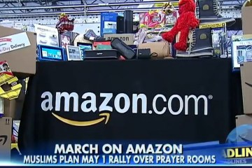 Angry Muslim Employees File A Lawsuit & Rally Against Amazon Due to Lack Of Prayer Rooms