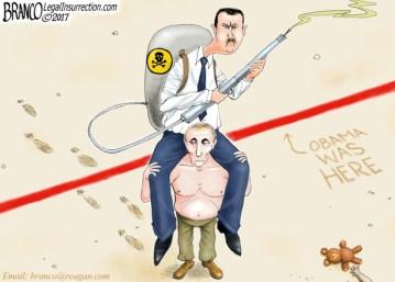 Cartoon: Piggyback Over The Line