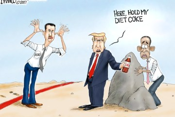 Cartoon: Leading From the Front