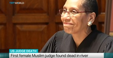 Body Of Country's First Female Muslim Judge Found In Hudson River (Video)