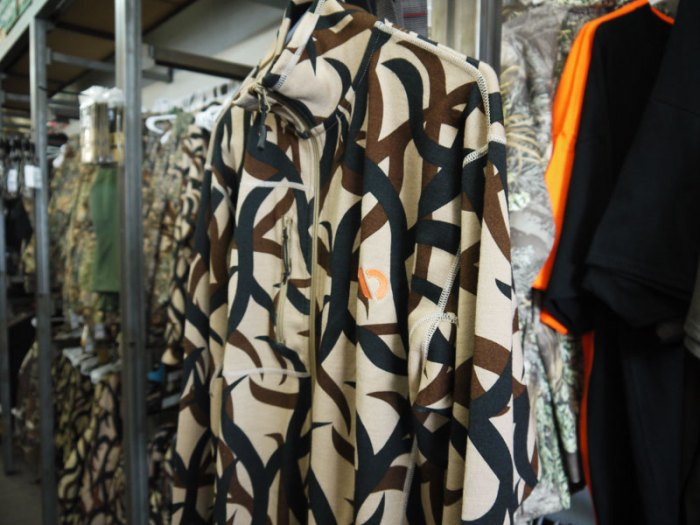 Merino Wool by First Lite comes in ASAT Camo & other neutral colors.