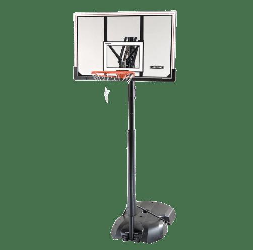 Lifetime 52 Steel-framed Shatterproof Portable Basketball Hoop, 51544