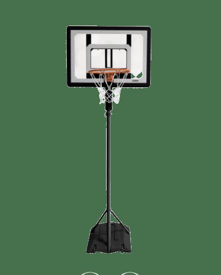 sklz pro mini hoop basketball system with adjustable-height pole