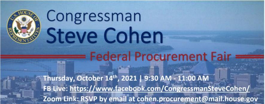 Congressman Steve Cohen Federal Procurement Fair