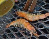 Lemon and garlic prawns... quite a reward for a famished braaier!!