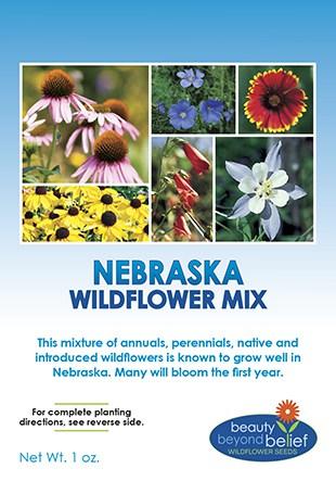 Nebraska Wildflower Mix Wildflower Seeds