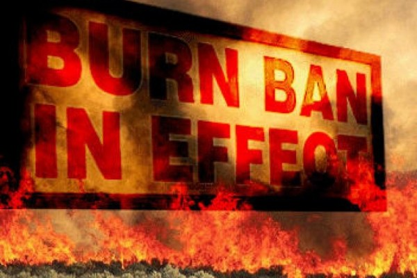 Local emergency management issues 'burn ban' reminder