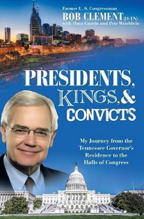 Former member of Congress, Bob Clement (D-TN) to speak and sign books at the Green McAdoo Cultural Center in Clinton, Tennessee
