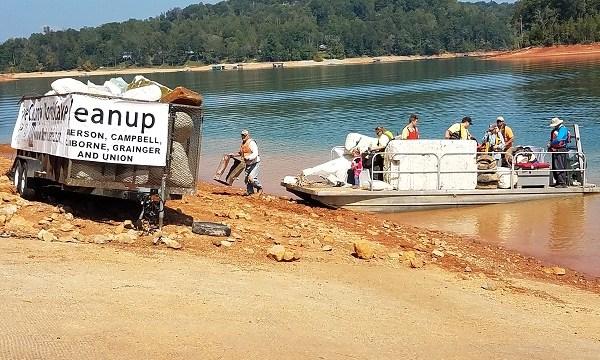 Norris Lake Cleanup