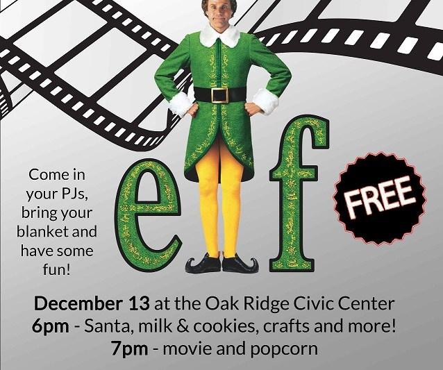 Kids' Movie Night Set for December 13 at Civic Center