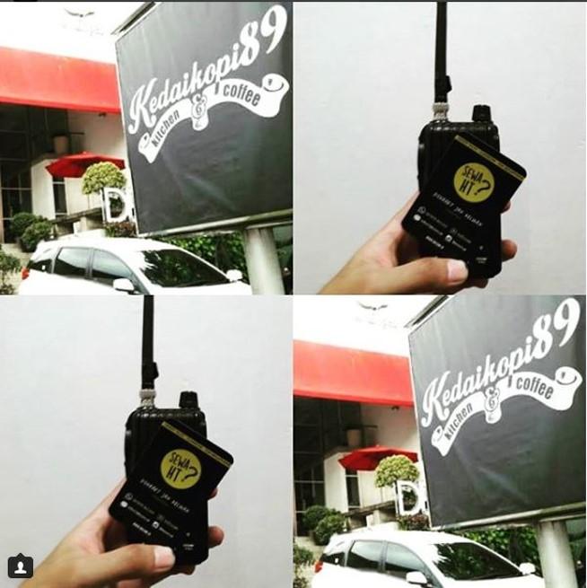 Sewa HT di Kedai Kopi 89 Kemang Jakarta Selatan