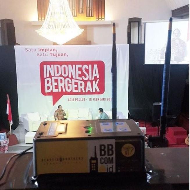 Sewa Clearcom di GPIB Paulus Jakarta Pusat