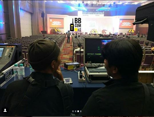 Sewa Clearcom di Indonesia Convention Exhibition BSD Tangerang