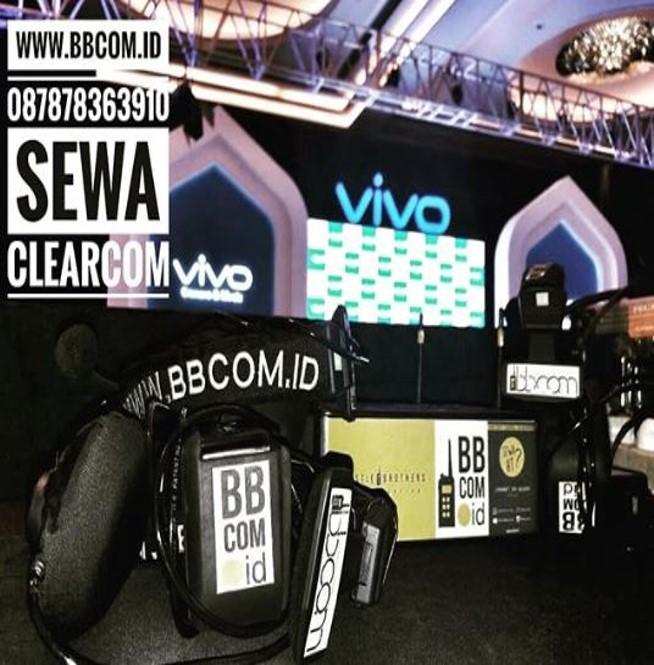 Sewa Clearcom Jakarta