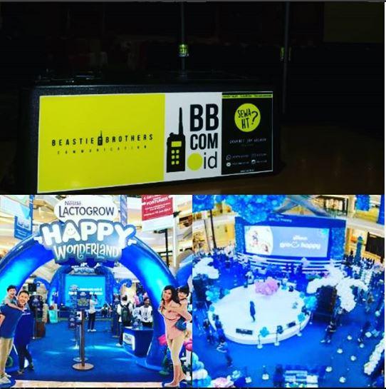 Sewa Clearcom di Kota Kasablanka Jakarta Selatan