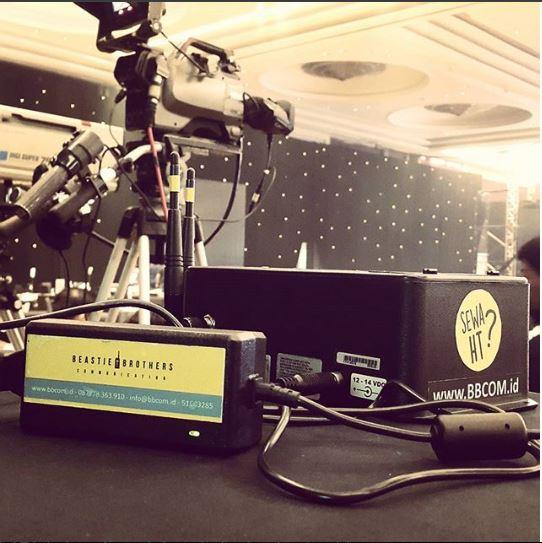 Sewa Clearcom di Hotel Raffles Jakarta Selatan