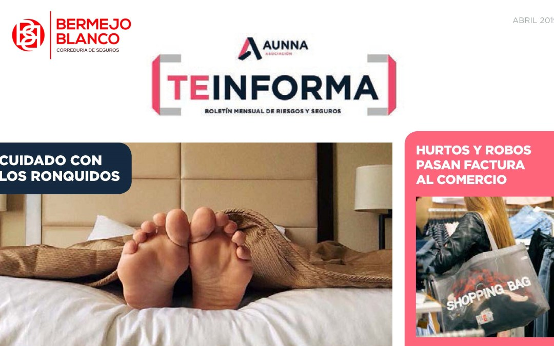 TEINFORMA abril 2019
