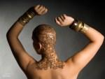 Indian Henna design Saras Henna henna crown