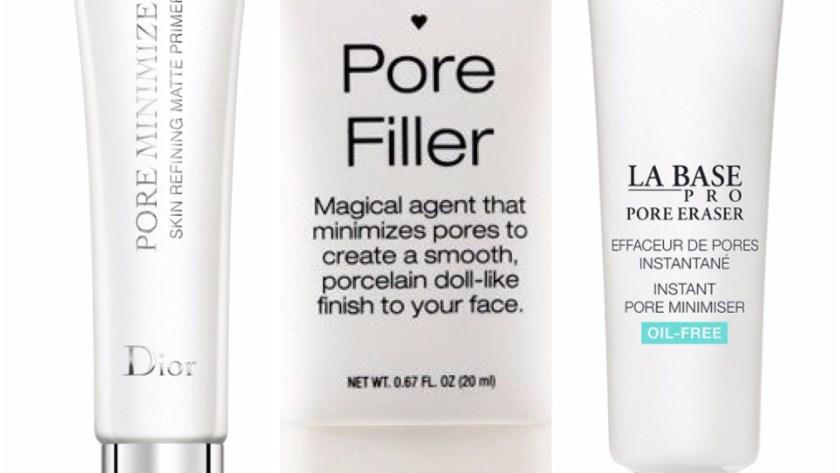 Pore Minimisers Erasers Fillers