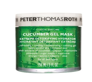 Peter Thomas Roth Cucumber Gel Mask Summer Skincare Tips