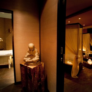 Tips & Toes Day Spa Massage Room