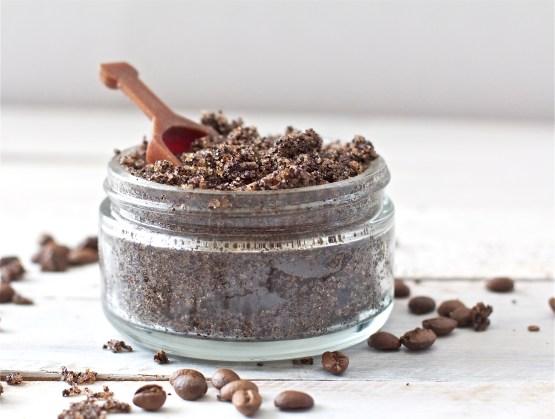 coffee-and-almond-body-scrub