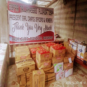 Support to Taal Volcano Victims