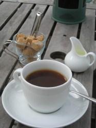 まろやかな味わいのコーヒー