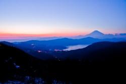 大観山より(2010年2月20日)