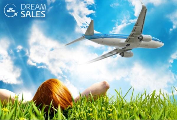 Dream Sales, da KLM