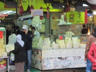 Cheese market Istanbul