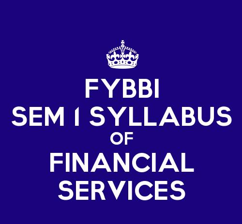FYBBI syllabus