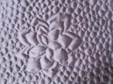 #16 - Purple Satin Wall Hanging Close Up