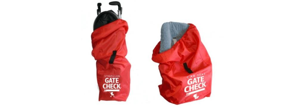 Housse et sac protecteur pour siège d'auto et poussette Gate Check de J.L. Childress