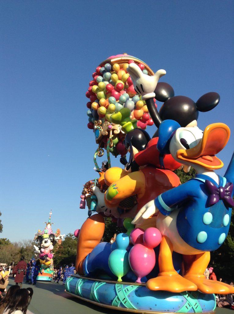 Défilé Disney