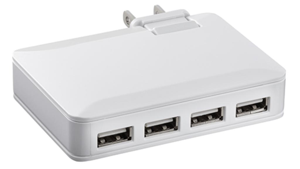 Chargeur mural USB à 4 ports d'Insignia