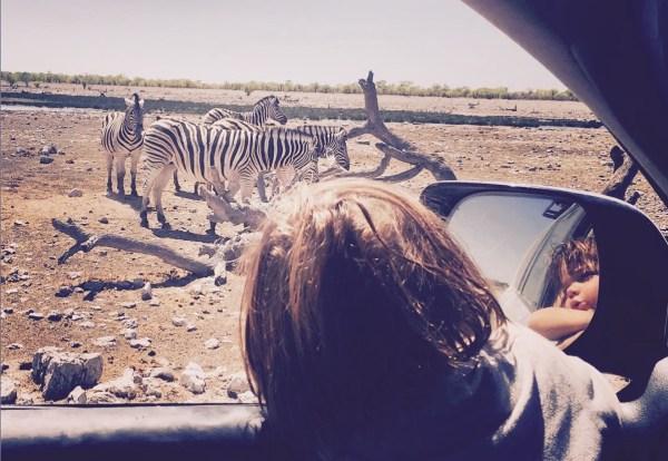 Safari en Afrique avec enfant