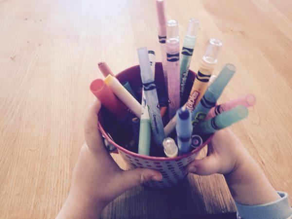 Crayons à colorier