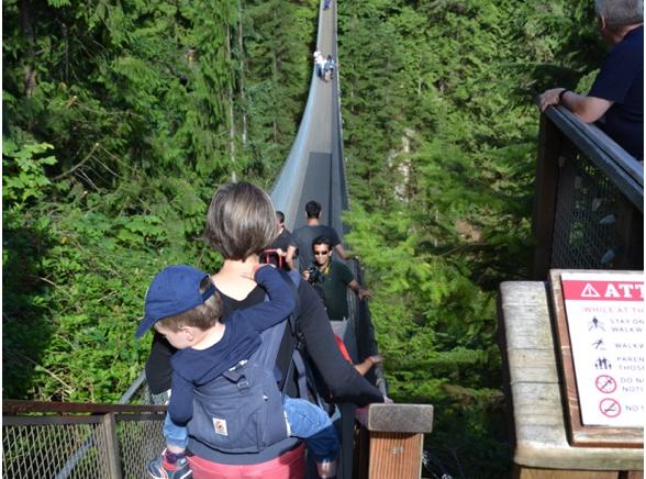 Le Parc du pont suspendu de Capilano
