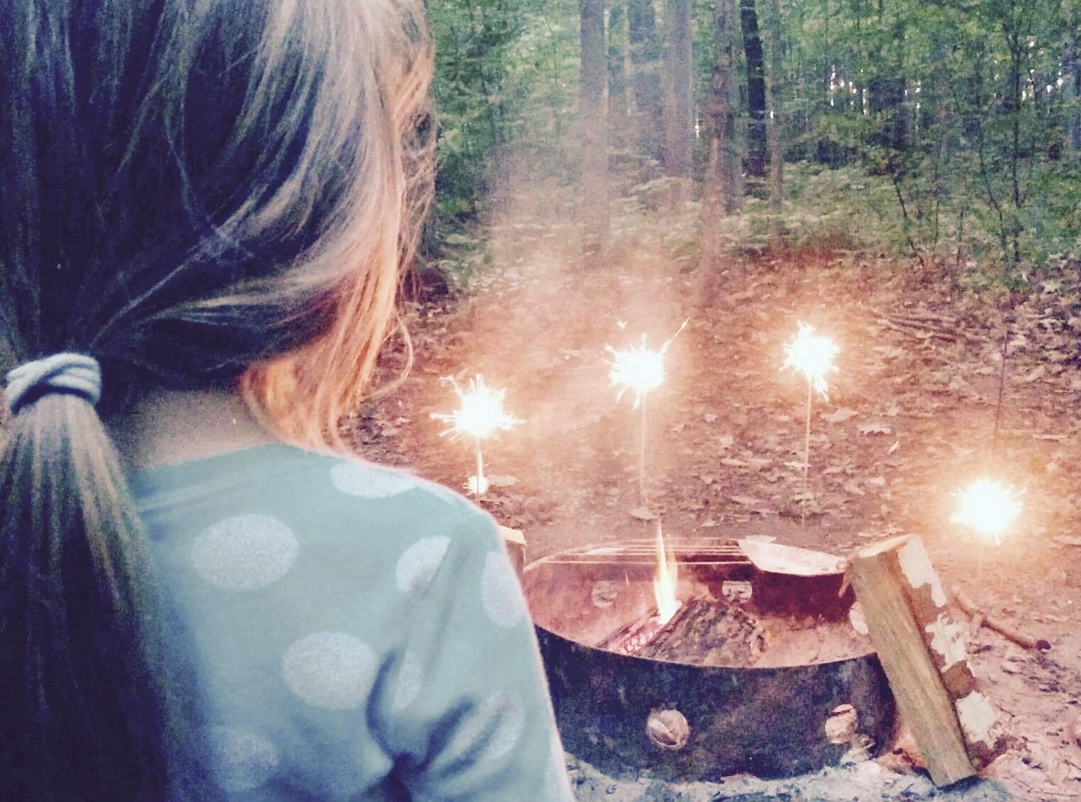 Jeux pour enfants en camping