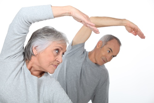image of senior fitness program