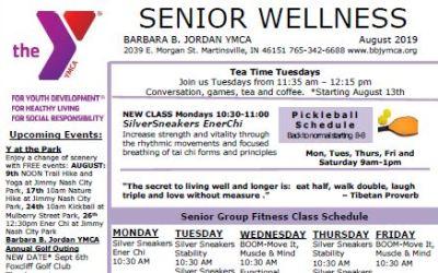 August 2019 Senior Newsletter