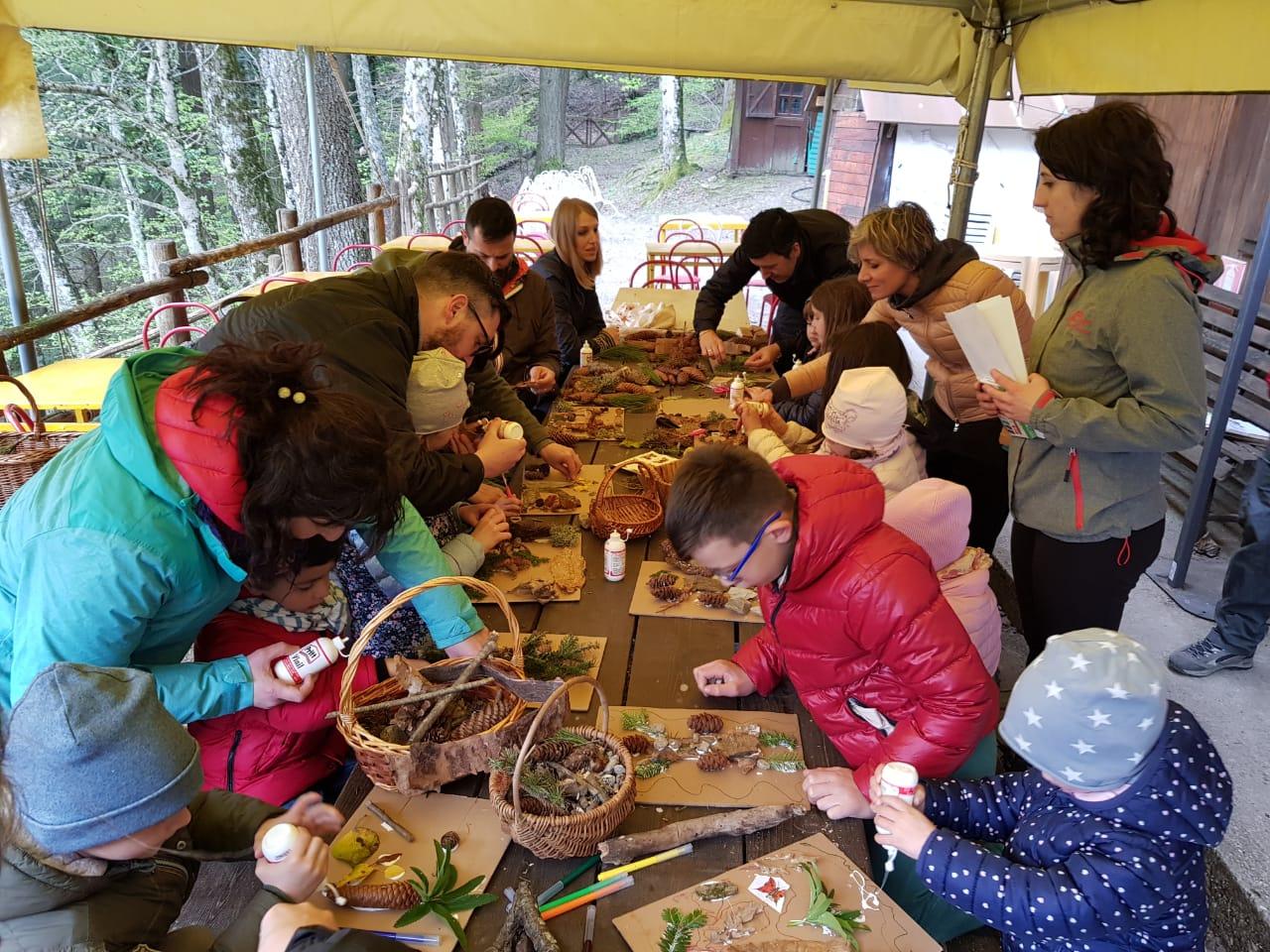 attività Toscana per bambini piccoli grandi artisti green