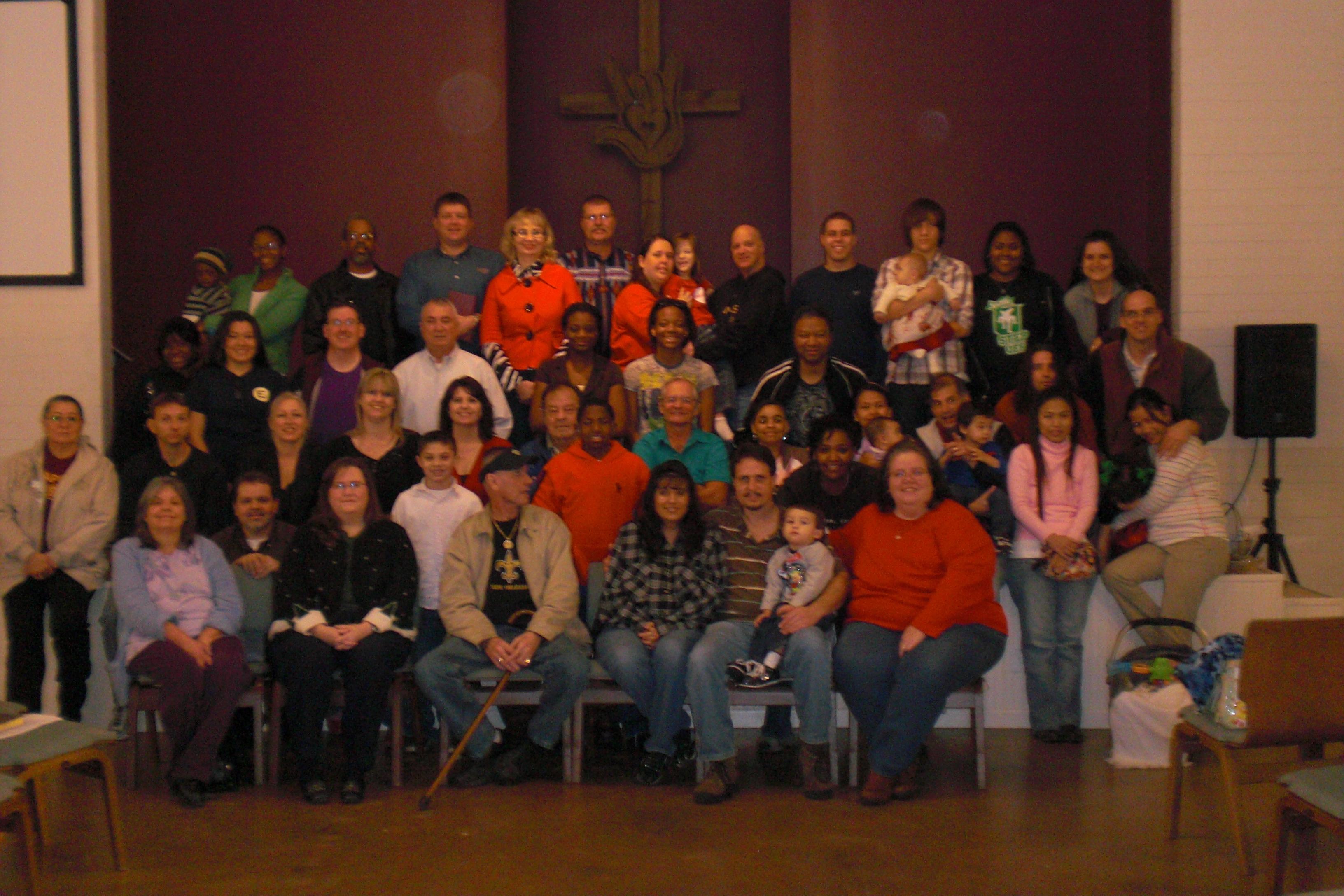 Christmas Service at the Deaf Church